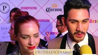 ALEJANDRO SPEITZER - MINNIE WEST - ENTREVISTA - COSMO FASHION NIGHT - MEXICO