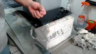 Como quitar el cristal de una campana decorativa Odipo