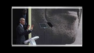 A Johannesburg, Obama rend hommage à Nelson Mandela… et aux Bleus