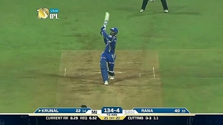 MI vs SRH 2017 Highlights