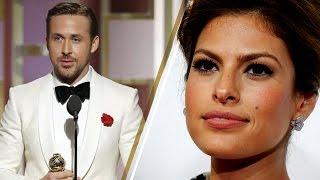 Ryan Gosling Dedicates 2017 Golden Globes Award to Wife Eva Mendes in Emotional Acceptance Speech