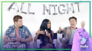 "All Night: ""Would You Rather?"" With The Cast • A Hulu Original Series"