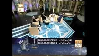 Qawwali & Daff proven live on QTV by Pir Saqib.Mufti Akmal,Owais Qadri also present.