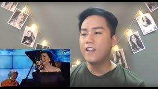 Vocalist Reacts to Regine Velasquez - Paraisong Parisukat