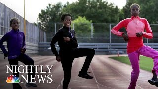 Once Homeless Junior Olympians Mingle With Track Stars At U.S. Nationals | NBC Nightly News