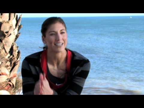 Hope Solo Born to Dive