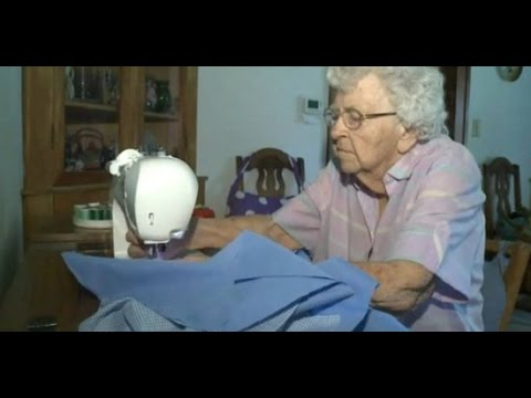 Every Single Day This 99 Year Old Woman Sews a Dress for a Child in Need- Lillian Weber