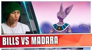 REACT Bills VS. Madara | Duelo de Titãs (7 Minutoz)