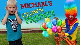 Creepy Clown Kidnaps Michael!!