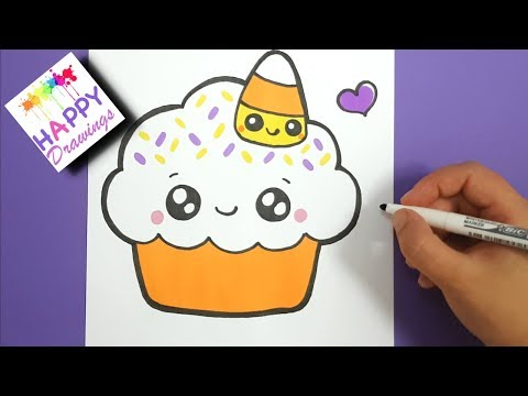 Xxx Mp4 HOW TO DRAW COLOR HALLOWEEN CUPCAKE CUTE STEP BY STEP HAPPY DRAWINGS 3gp Sex