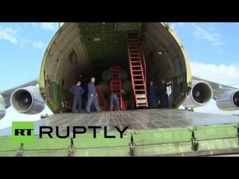 Syria: See the moment the S-400s