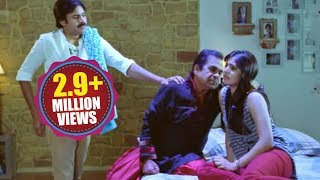 Attarintiki Daredi Comedy Scenes || Aahalya Drama Scene (Lalitha Kalalu) - Pawan Kalyan