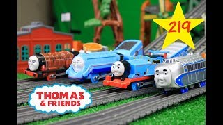 THOMAS AND FRIENDS THE GREAT RACE #219 Trackmaster Thomas|Thomas & Friends Toy Trains