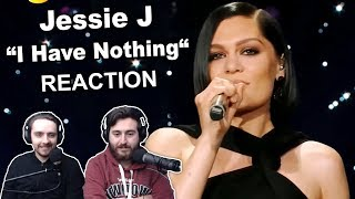 """""""Jessie J - I Have Nothing"""" Singers Reaction"""