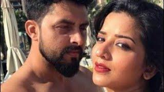 Viral vedio :monalisa and vikrant singh rajpoot in dubai first anniversary part 2