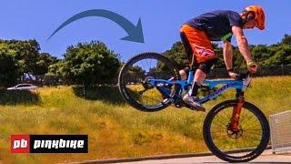 How to Stoppie A Mountain Bike With Bernard Kerr