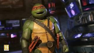 Official Injustice™2 - Teenage Mutant Ninja Turtles Gameplay Reveal Trailer