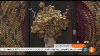 Iran Sea shells handicrafts, Bushehr province دستسازهاي صدف دريايي و گوش ماهي بوشهر ايران