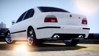 GTA IV BMW M5 e39 short cinematic movie