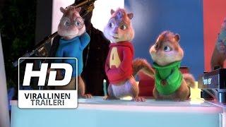 Alvin ja pikkuoravat: Reissussa |Virallinen Traileri HD | Suomi