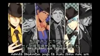 Kuroko no Basket - When crooks laugh by Kiseki no Sedai [lyrics]