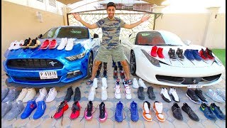 MY ENTIRE SNEAKER COLLECTION !!!