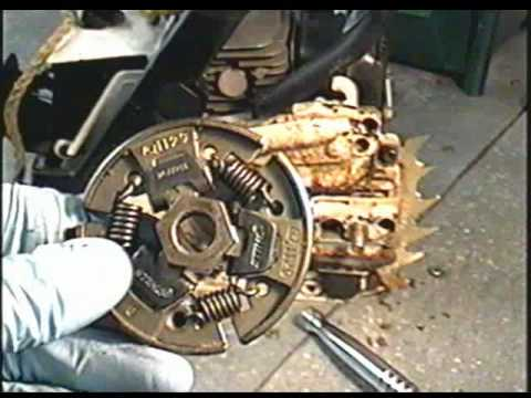 STIHL MS 180 Chainsaw Clutch Removal & Installation