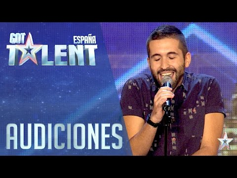 The man of a thousand voices Auditions 3 Spain s Got Talent 2016