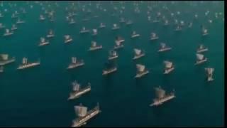 مقطع من الموسم السابع من مسلسل Game of thrones الثلج والنار