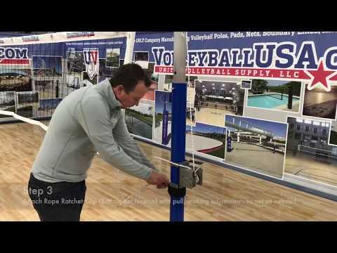 Xxx Mp4 Volleyball Net Setup SenComp On Patriot Pole System 3gp Sex