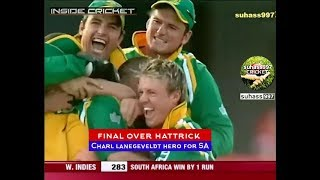 Most Shocking LAST OVER in ODI Cricket. ROFL! Best Breath Taking Over