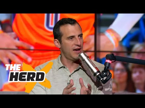 Doug Gottlieb on Warriors chances with Kerr out Westbrook s playoffs and more THE HERD