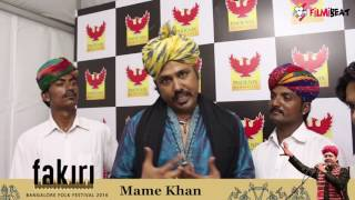 Coke Studio fame Mame Khan at Phoenix Mall for Fakiri, Exclusive Interview | Filmibeat