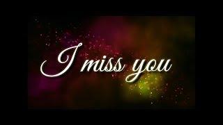 I miss u babu 💕sad missing romantic WhatsApp status vedio