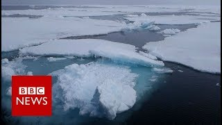 How waste from all of the world is ending up in the Arctic Ocean - BBC News