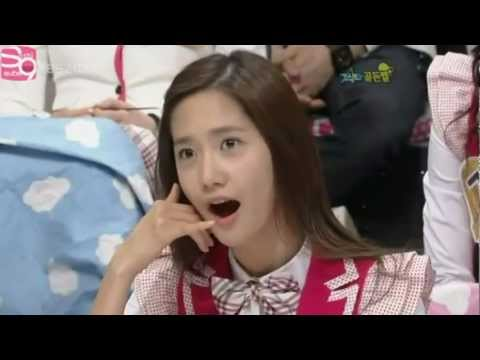 SNSD Funny Why we love this Alligator yoong Just the way you are FMV