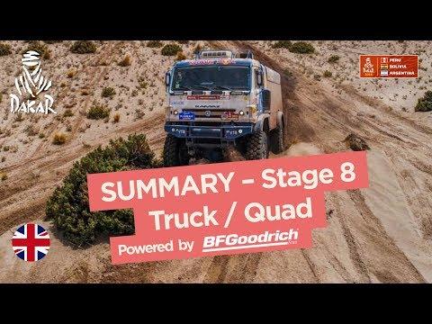 Xxx Mp4 Summary Truck Quad SxS Stage 8 Uyuni Tupiza Dakar 2018 3gp Sex
