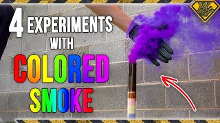 4 Experiments with Colored Smoke