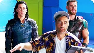 Thor 3 Ragnarok Gag Reel Bloopers and Outtakes + Extended Clip (2017)