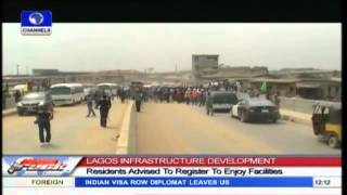 LAGOS: Fashola Inspects Projects In Ikorodu, Kosofe
