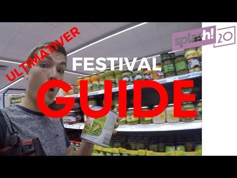 Splash 2017 FESTIVAL GUIDE ultimative Edition 5 Schritte