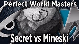 🔴[DOTA 2 LIVE ENG] Team Secret vs MIneski Live,Perfect World Masters Live, Mineski vs Team Secret