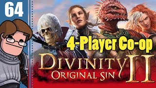 Let's Play Divinity: Original Sin 2 Four Player Co-op Part 64 - The Eternal Aetera