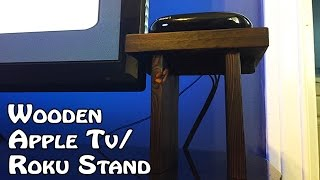 Making A Wooden Apple TV Stand