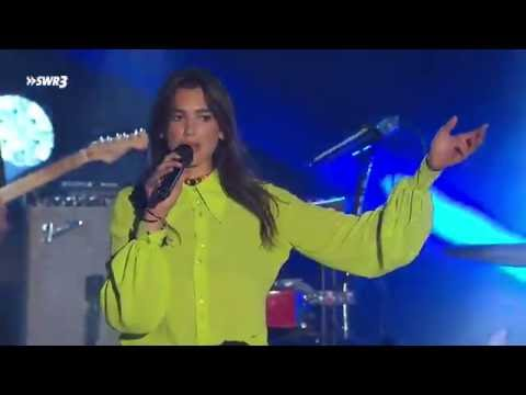 Dua Lipa Blow Your Mind & Be The One Live at SWR3 New Pop Festival 2016