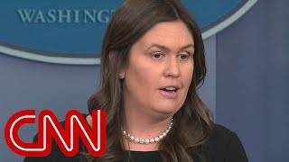 Sarah Sanders responds to EPA barring reporters