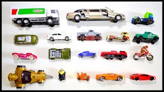 Street Vehicles For Kids - Learn Names and Sounds of Cars, Trucks, Trailer, Pickup Trucks #2