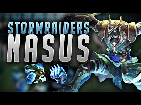 HOW STUPID IS STORMRAIDERS ON NASUS UNKILLABLE NASUS TOP LANE League of Legends Gameplay