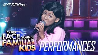 Your Face Sounds Familiar Kids: Lyca Gairanod as Nora Aunor - Tiny Bubbles