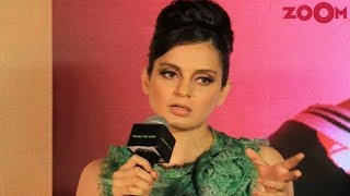 Kangana Ranaut's argument with journalist takes an ugly turn | Bollywood News